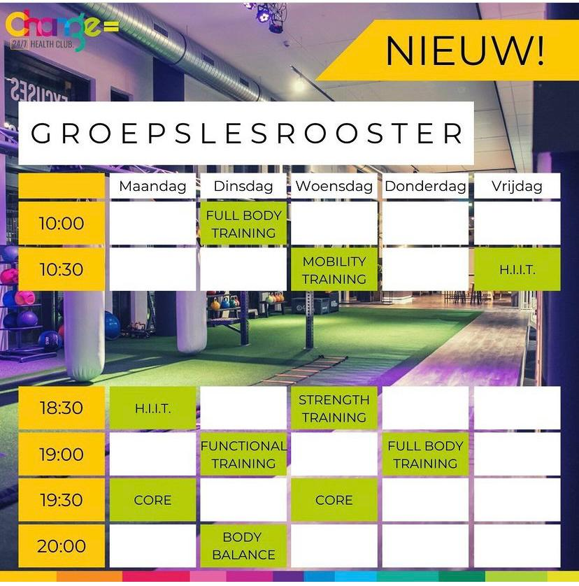 Rooster amsterdam zuid oost